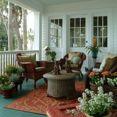 Octogon Porch Design Ideas, Pictures, Remodel, and Decor - page 4