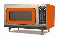 Retro-future microwave. Pop corn in style!