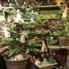 Handmade ornaments are so precious.   Vintage  treasures, home decor, handmade in USA. Open Fridays 10 to 7 & Saturdays 8 to 4. #sharonrenninger #vintage #style #vintagestyle #homedecor #homedecoration #interiordesign #home #countryliving #simple #fashion #primitives #handmade #holidaydecor #kutztown #farmersmarket  #greatstuffhappenshere #garden #Christmas #holidaygifts #Santas #loveChristmas #primitive santa - Mon Dec 04 2017 08:26:48 GMT-0500 (Eastern Standard Time)
