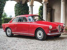 1954-1959 ALFA ROMEO GIULIETTA SPRINT VELOCE BERLINETTA - designed by Franco Scaglione at Carrozzeria Bertone of Turin.