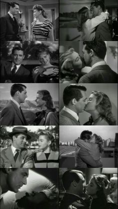 Cary Grant and Ingrid Bergman as American Agent T.R Devlin and America born German girl Alicia Huberman who work as Spy for American Government. Movie: Notorious(1946) Director: Alfred Hitchcock