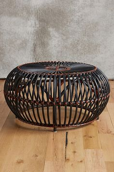 Susila Rattan Coffee Table #anthropologie - love the colors of this!