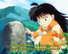 Lord Sesshomaru Always Remember