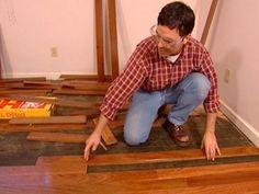 How to Install a Hardwood Floor | how-tos | DIY