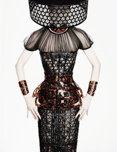 By Magaly Zepeda. Alexander McQueen Campaign SS 2013