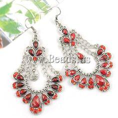 earrings http://www.beads.us/es/producto/aleacion-de-zinc-Pendientes-con-Colgantes_p80252.html
