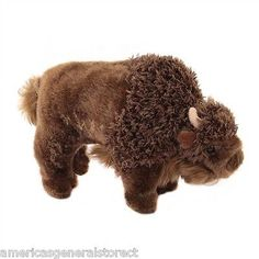 "BODI the BUFFALO by Douglas Cuddle 8"" stuffed plush animal toy COW"
