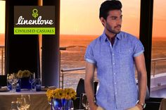 Going for a #date, why not impress with #LinenLove's Blue #Shirt! Shop now at: http://bit.ly/1n75dj2