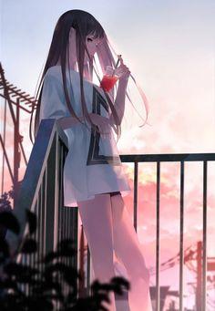 Do you want humor Geek manga Otaku Don't hesitate to affix us Kawaii Anime Girl, Cool Anime Girl, Pretty Anime Girl, Girls Anime, Beautiful Anime Girl, Anime Art Girl, Manga Girl, Anime Love, Art Anime Fille