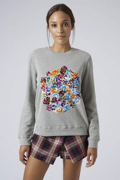 25 Stylish Sweatshirts to Cozy Up With STAT via Brit + Co.