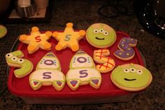 Toy Story Theme Cookies