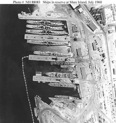 Pacific Reserve Fleet, Mare Island, Vallejo CA