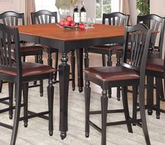 Chelsea 7 Piece Counter Height Dining Set