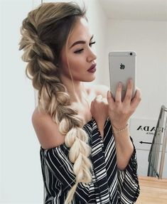 Hair Inspiration: Top 7 Party Hairstyles for New Year! Hair Inspiration: Top 7 Party Hairstyles for New Year! Holiday Hairstyles, Party Hairstyles, Long Hairstyles, Hairstyle Ideas, Braided Hairstyles, Amazing Hairstyles, Long Haircuts, Weekend Hairstyles, Wedding Hairstyles