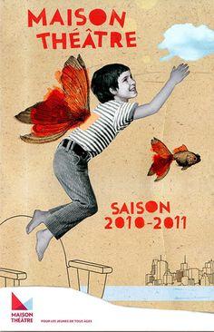 Katy Lemay – affiche pour un théâtre pour enfants (2010)