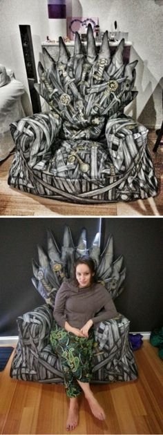 Game Of Thrones Iron Throne Beanbag Chair