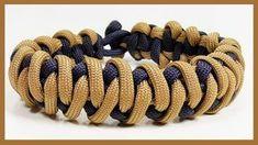 "Paracord Bracelet: ""Padded Pagoda"" Bracelet Design - YouTube"