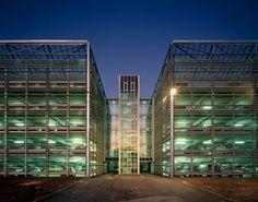Parkhaus Siemens AG   Erlangen, Germany   Hupfauf Thiels Architekten bda