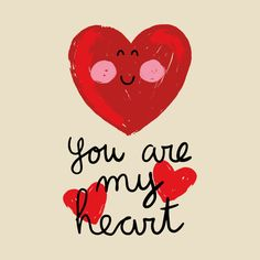 Check out this awesome 'You+are+my+heart' design on I Love My Hubby, Love Husband Quotes, Future Love, Love Of My Life, Love You Gif, Love You Images, Love Quotes With Images, Words For Girlfriend, Special Love Quotes