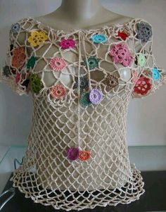 Fabulous Crochet a Little Black Crochet Dress Ideas. Georgeous Crochet a Little Black Crochet Dress Ideas. Crochet Bodycon Dresses, Black Crochet Dress, Crochet Jacket, Crochet Blouse, Crochet Shawl, Lace Dress, Irish Crochet, Crochet Baby, Easy Crochet