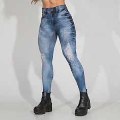 149,80 Legging Back 2 Back Blue @ Labellamafia - Labellamafia
