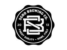 Sgro Brewing badge