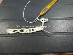 OFICINA DO BARRADO: Croche - Barrado Inovado 2 em Azul - PAP . . .
