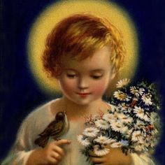 Embroidery pages patterns of saints for kids more