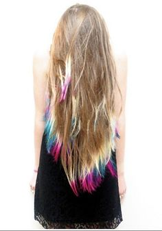 I wish my hair was longer so I could do something like this.