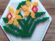 Daffodils perler beads by Anta V. - Perler® | Gallery