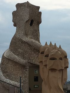What do you see when you look at Gaudi's buildings. Do you see stunning architecture with art or do you see idolatry? The big question is when does art becom What Do You See, Gaudi, Holy Spirit, Purpose, Buildings, Lion Sculpture, Around The Worlds, This Or That Questions, Architecture