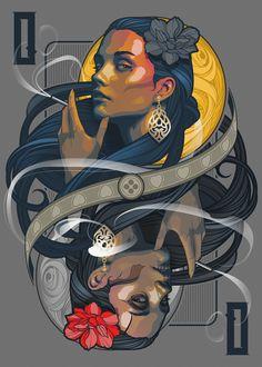 Graphic Design Illustration, Illustration Art, Neo Traditional Art, Art Sketches, Art Drawings, Character Art, Character Design, Gcse Art Sketchbook, Desenho Tattoo