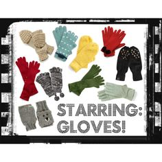 """Starring: Gloves!"" Cruelty-free"