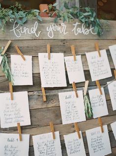 Tischplan, Sitzplan, rustkal, Hochzeit