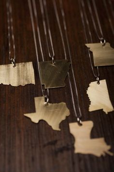 Love your state necklace