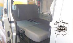 Instalación Asiento cama en Opel Vivaro