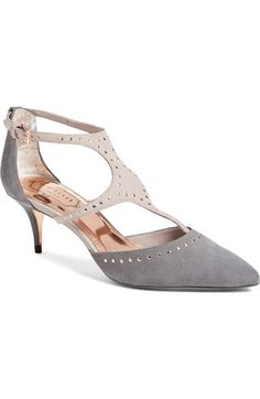 Ted Baker London Ted Baker London 'Dvaita' Ankle Strap Pump (Women) available at Stiletto Pumps, Peep Toe Pumps, Women's Pumps, Ted Baker Fashion, Caged Sandals, Vintage Shoes, Womens High Heels, Ankle Strap, Christian Louboutin