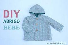 Resultado de imagen de ABRIGO BEBE PUNTO COMO HACER Cardigan, Raincoat, Sewing, Diy, Sweaters, Jackets, Youtube, Google, Ideas