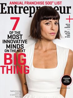 Entrepreneur Magazine | January 2013 -- featuring 7 Women to Watch, including Sophia Amoruso of Nasty Gal, and our winners of the Entrepreneur of 2012 awards.