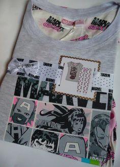 Kup mój przedmiot na #vintedpl http://www.vinted.pl/damska-odziez/inne-ubrania/10005451-nowa-pizamka-rozmiar-10-12-marvel-comis