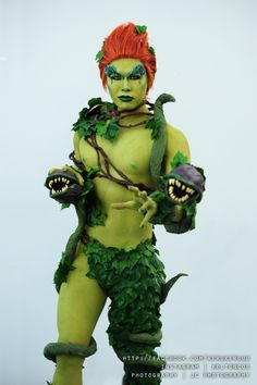 poison ivy costume genderbend - Google Search