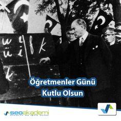 Başöğretmen Mustafa Kemal Atatürk başta olmak üzere tüm öğretmenlerimizin 24 Kasım Öğretmenler Günü kutlu olsun!