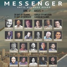 """I highly encourage you to come to @ywamkc this summer for the """"Messenger School"""". I have never seen a diverse line up of speakers like this. You will then get to go to on a short term missions trip all for $3000! This could change your life! @dutch_sheets @isaiahsaldivar @mikebickle @rickpino @realjordanmarcotte @louengle @brianbarcelona @chaddedmon @brotherrussell_ @chrisburnslove . #Ywam #ihopkc #revival #ywamkc #messenger #kansascity #kc #appealtoheaven #circuitriders #AzusaNow #god…"""