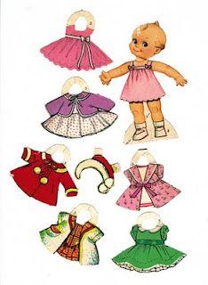 Kewpie Paper Dolls