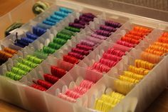 embroidery floss organizer - Google Search