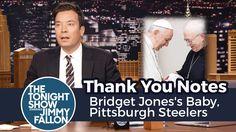 Thank You Notes: Bridget Jones's Baby, Pittsburgh Steelers