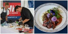 Best Chefs and Others show off Culinary Skills at Newport Charter Yacht Show Presented by Helly Hansen Best Chef, Helly Hansen, Newport, Chefs, Food, Meal, Essen, Hoods, Meals