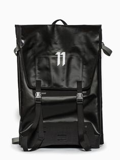 Messenger bag from the S/S2015 Boris Bidjan Saberi 11 collection in black.