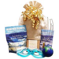 WANT:  Premier Dead Sea Relaxation Bath  Body Spa Gift Set Dead Sea Salts with Lavender