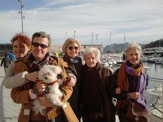 Con la familia en Bermeo:)